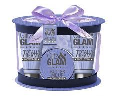 Gloss - caja de baño, caja de regalo para mujeres - Bañera ovalada Glitz regalo y Glam