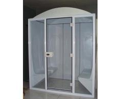 Cabina baño vapor 10d, Medidas 2,50 x 2,12 x 2,24 cm