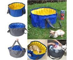 Piscina para Perros, Legendog Portátil Plegable Piscina para Mascotas Bañera para Perros Pequeños o Gatos