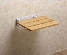 NRS Healthcare Riviera - Asiento para ducha plegable (para montaje en pared)