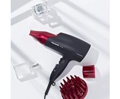 Panasonic EH-NA65-K825 Secador de pelo con tratamiento para más brillo y mayor hidratación para tu cabello gracias a la tecnología nanoe™ (2000 W/ 3 ajustes de velocidad y temperatura/ 3 ACC), negro