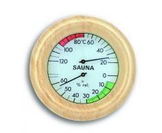 TFA 40.1001 - Reloj de arena para sauna, madera de haya (28,7 x 5,2 x 3 cm)