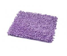 Ridder 7418130-350 Hair - Alfombra de baño (55 x 50 cm, 100 % algodón), color violeta