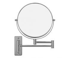 """Songmics - Espejo tocador de Pared -10x Ampliación, 8"""" pulgadas cosmética constituyen afeitar Espejos para baño"""