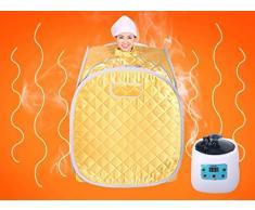 LXsnail caja de vapor / home caja de vapor de desintoxicación sauna / transpiración del sudor caja de vapor de vapor plegable ( Color : 2* )