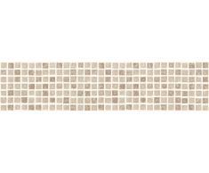 FHB FDB50038 Ceramica de mosaico de cocina y baño autoadhesivas para cenefa adhesiva - Natural