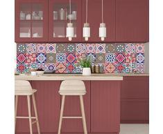 Cuadros de cemento adhesiva pared – azulejos – 20 x 20 cm -15 piezas