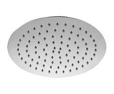 Bath & More Alcachofa Redonda, 250 mm de diámetro, acero inoxidable, 1 pieza, hochglanzverchromt, 150012344