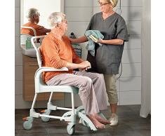 Silla de baño con wc para mayores