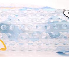 Mayco Bell - Alfombrillas de baño y alfombrilla de ducha para niños, antibacterianas, sin ftalatos, látex y lavable a máquina, diseño de dibujos animados