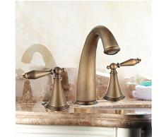 Haga clic en el estilo antiguo lavamanos en las aguas turbulentas mixer B