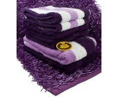 Gözze Pärchen Starter Set - Juego de toallas (2 toallas de mano, 1 toalla de baño, 1 alfombrilla de 60 x 100 cm, 100% algodón, 550 g/m², tejido ecológico estándar 100)