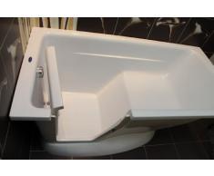 Bañera con puerta de Ópalo,para las personas mayores y las personas con discapacidad,a la izquierda versión