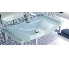 LAVABO SOBRE MUEBLE ART&BATH MOON CRISTAL ARENADO 810x460 (NO INCLUYE MUEBLE) (NO INCLUYE ESTRUCTURA SOPORTE)