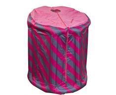 Vapor Portátil sauna Rosa/Azul hinchable
