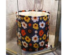 Bañera Grueso Cubo Plegable Flor Creativa Baño Adulto Bañera Desmontable Aislamiento Bañera de Cuerpo Completo Baño Barril Adulto Inflable Gratis (Tamaño : 65 * 70cm)