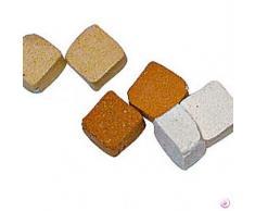5 x 3 mm Mosaix 10 G 100 piezas Azulejos de mosaico de cerámica baldosas Micro, marrón claro