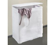 Kleine Wolke 5067948860 - Cesto para ropa sucia (48 x 27 x 55 cm), color gris