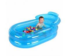 Adulto inflable bañera bañera plegable espesa adulto baño de tina tina de baño tina de plástico
