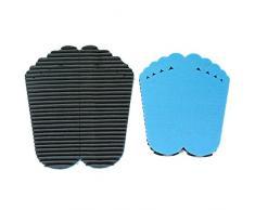 Set Mondaplen FootWave: un par de alfombras de baño y ducha para después del deporte que protegen los pies contra gérmenes y hongos en el gimnasio, la piscina o la sauna. Alfombra grande: 33 x 38 cm, pequeña: 30 x 34 cm. Se