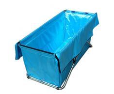 Aislamiento adulto de la tina plegable, baño de agua barril de barriles de baño de la bañera no-inflable