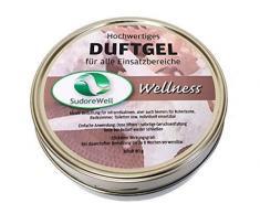 Sudorewell Gel Aroma Wellness para Sauna, Cabina de Infrarrojos y Cuarto de Baño, 80G Caja