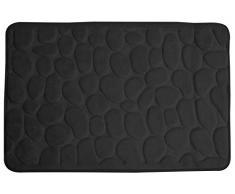 Alfombra de baño con diseño de lujo - negro