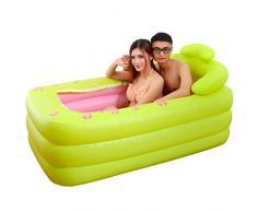 Baño inflable doble/Tina/ plegables bañera/Cañón de baño/Bañera de adultos/Cañón de baño-A