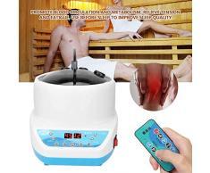 KEMANDUO Inicio Sudor Vapor, Sauna portátil de Vapor, Conveniente para el hogar Baño al Vapor, Vapor Equipo de la Belleza