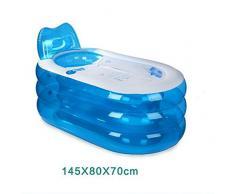 LL-Bañera portátil del PVC del balneario de los baños de la tina con el cubo plegable de la bañera inflable de la bomba , large