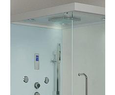 Sala de lujo ducha Spa templo Atenas, derecha incluye vaporizador, Radio Etc.