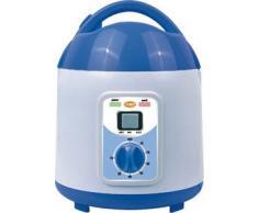 Generador de vapor pro para portable Sauna de vapor. Capacidad:2 Litros, 2 Escalones 750 y 1050 Vatios, con Reloj de tiempo