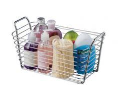Premier Housewares - Bandeja para baño, color cromo