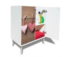 Armario para lavabo con nuevo diseño moderno diseño: corazón