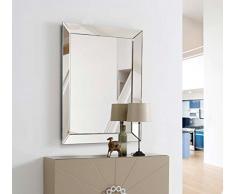 DISARTE - Espejos Modernos de Cristal - Palermo Rectangular (120x90) - iBERGADA