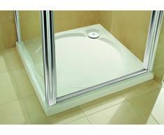 Coram Showers ST80WHI - 60Mm Plato De Ducha De Alta 800 X 800 Mm