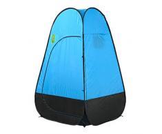 Carpa Para Camping Portátil Pop-up Carpa instantánea Campamento al aire libre Cambio Vestir Pesca Bañarse Ropa privada para cambiarse Ducha Cabina Portátil Al Aire Libre Instantánea ( Color : Blue )