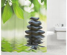 Cortina de ducha (material: 100% poliéster), poliéster, Harmony, 180 x 200 cm