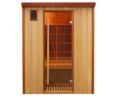 Sauna infrarrojos koulou para 3 personas SN-KOULOU-3