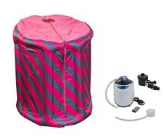 Portable Aroma para sauna rosa/azul inflable