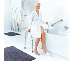 Ridder A0120101 - Banco para ducha, color blanco