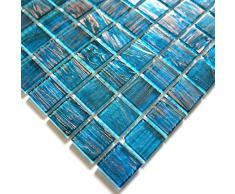 azulejos de mosaico de vidrio para el baño pdv-vit-ble
