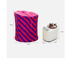 Cubo de sauna plegable machine máquina fumigadora de sauna doméstica box caja de vaporización familiar barril de vapor máquina de vaporización caja de sudor