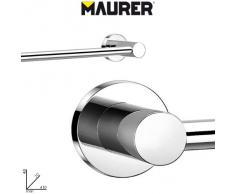 Maurer 5421105 - Toallero, barra inox 40 cm