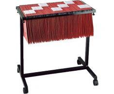 Elba 400021832 - Carro metálico para 100 carpetas