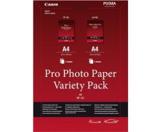 Canon Pro Photo Paper Variety Pack A4 - Papel fotográfico (A4 (210×297 mm))