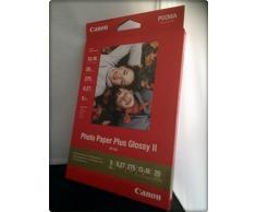Canon PP201 - Papel fotográfico (20 unidades, 13 x 18, papel brillante, 275 g)