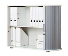 United Office® persiana Armario persiana (M. Con Cierre en diseño de aluminio