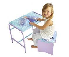 Frozen 472FZN - Juego de escritorio y taburete infantil, color morado
