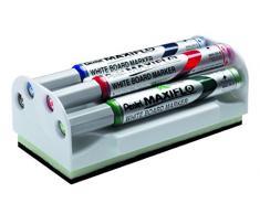 Pentel Maxiflo - Paquete de 4 unidades para pizarra, multicolor